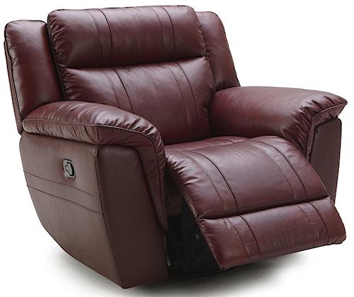 Kuka Home 1751 Reclining Chair w/ Exterior Handle