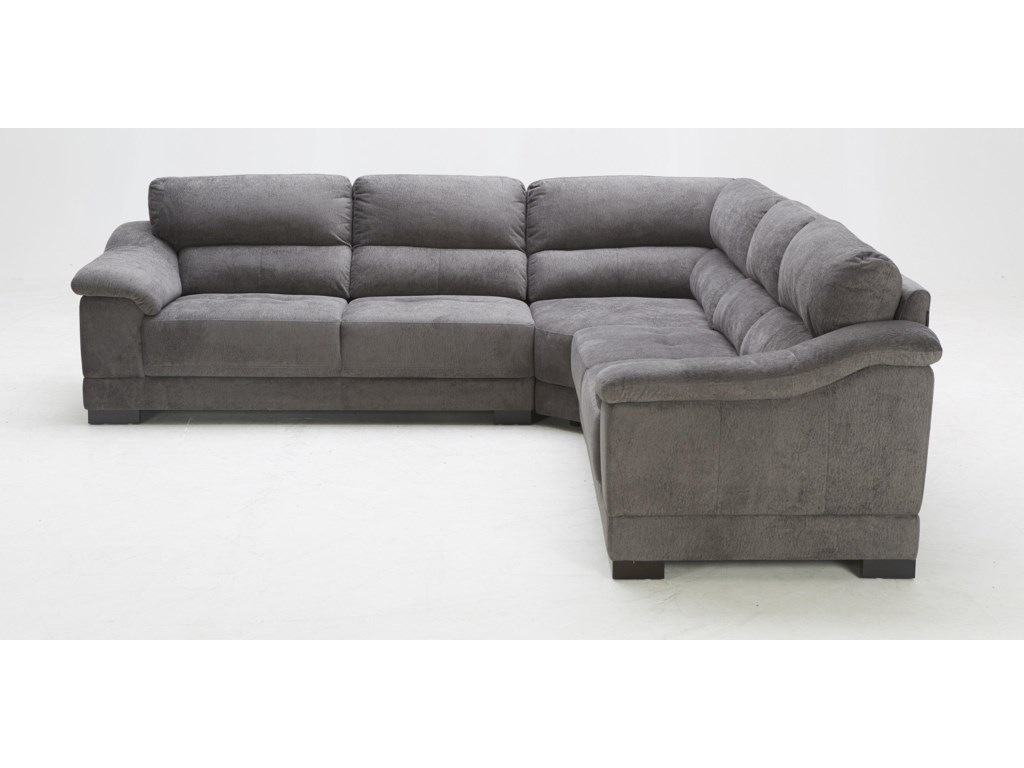 BFW Lifestyle 1821Transitional Sectional Sofa