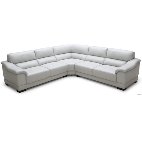 Kuka Home 1821 Transitional Sectional Sofa
