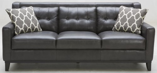 Inspirational K C Midtown Leather Sofa with Tufted Back In 2018 - Style Of tufted leather sofa bed Lovely