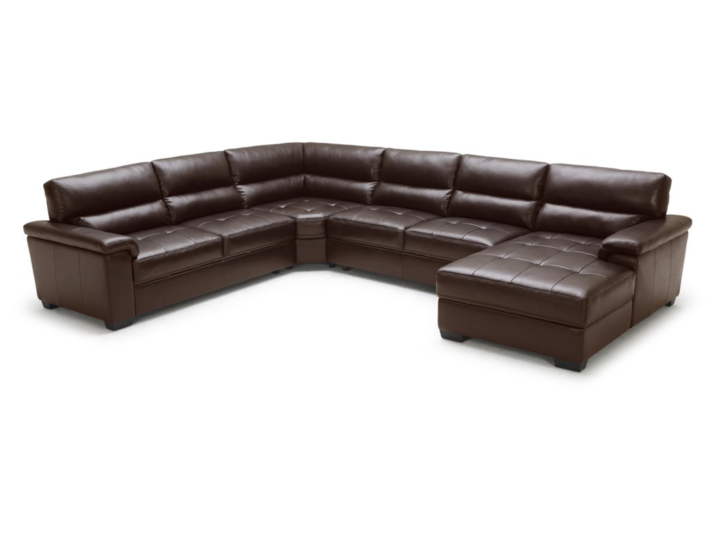 BFW Lifestyle 1908Contemporary Sectional Sofa