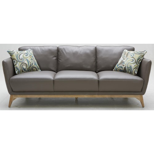 Warehouse M 1961 Contemporary Leather Match Sofa