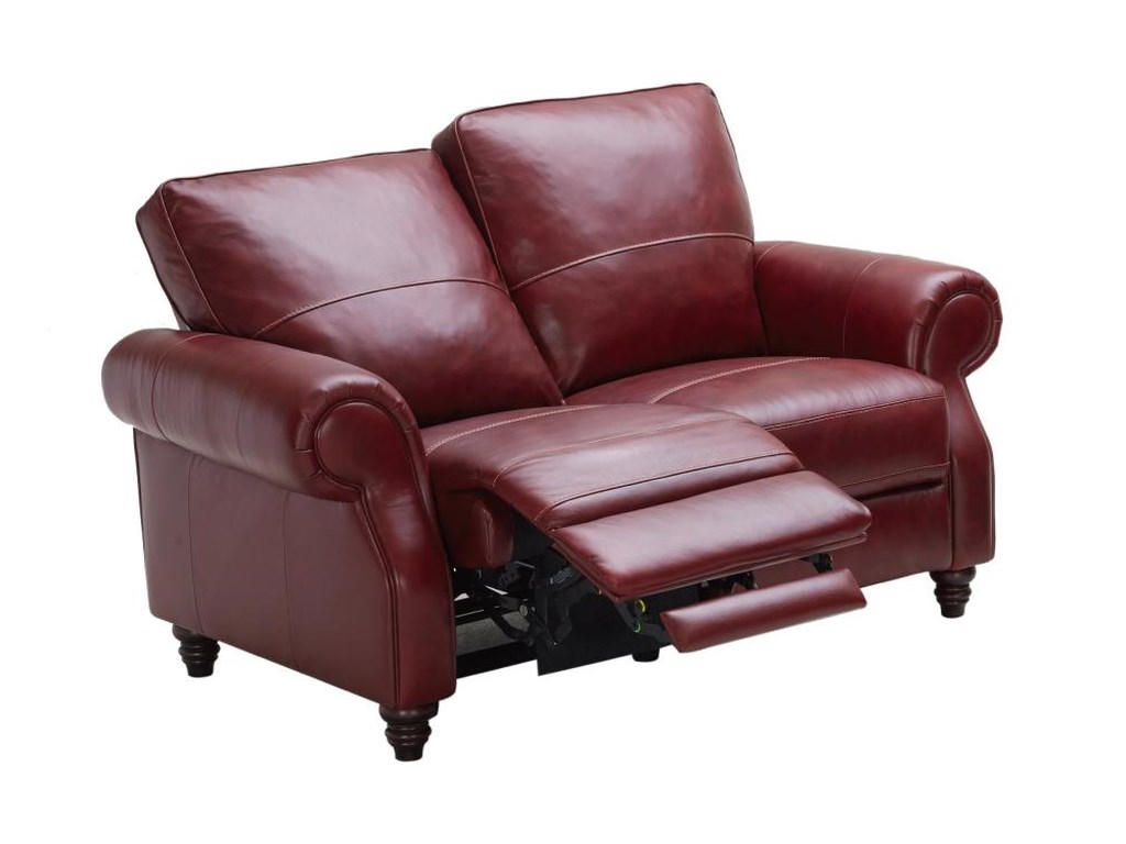 Kuka Home 1967Traditional Reclining Loveseat