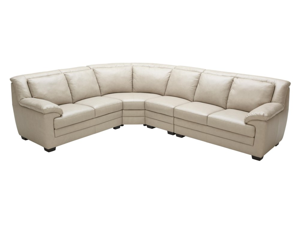 Kuka Home 1973Casual Sectional Sofa