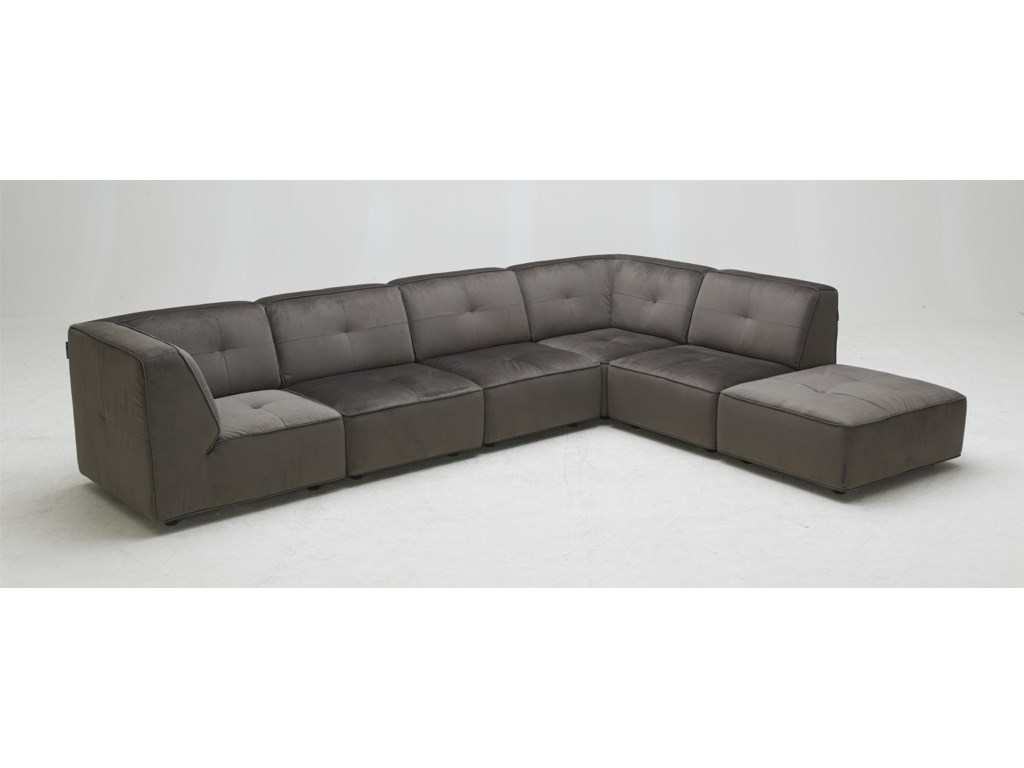 BFW Lifestyle 3179Contemporary Sectional Sofa