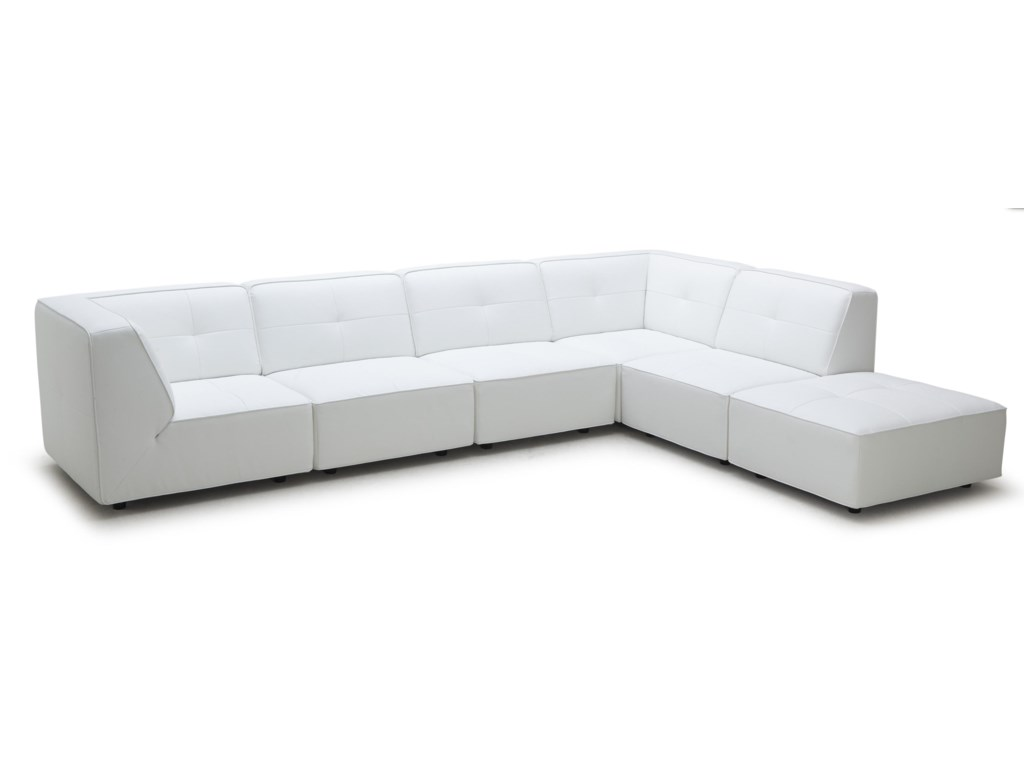 Kuka Home 3179Contemporary Sectional Sofa