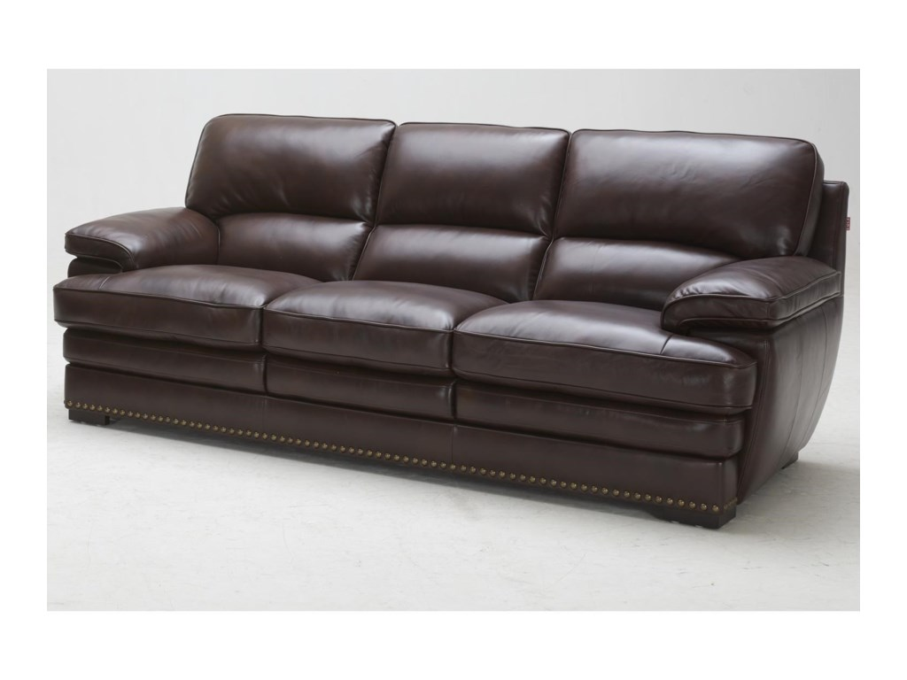Duncan Leather Sofa