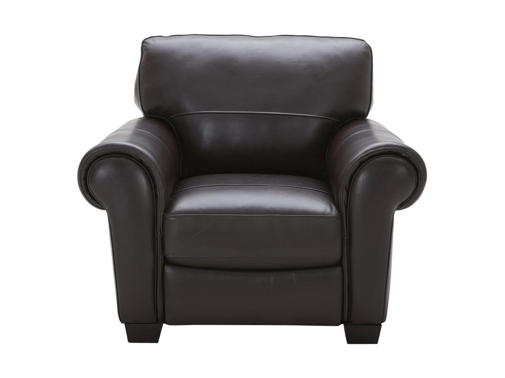 Urban Evolution TeddyLeather Chair