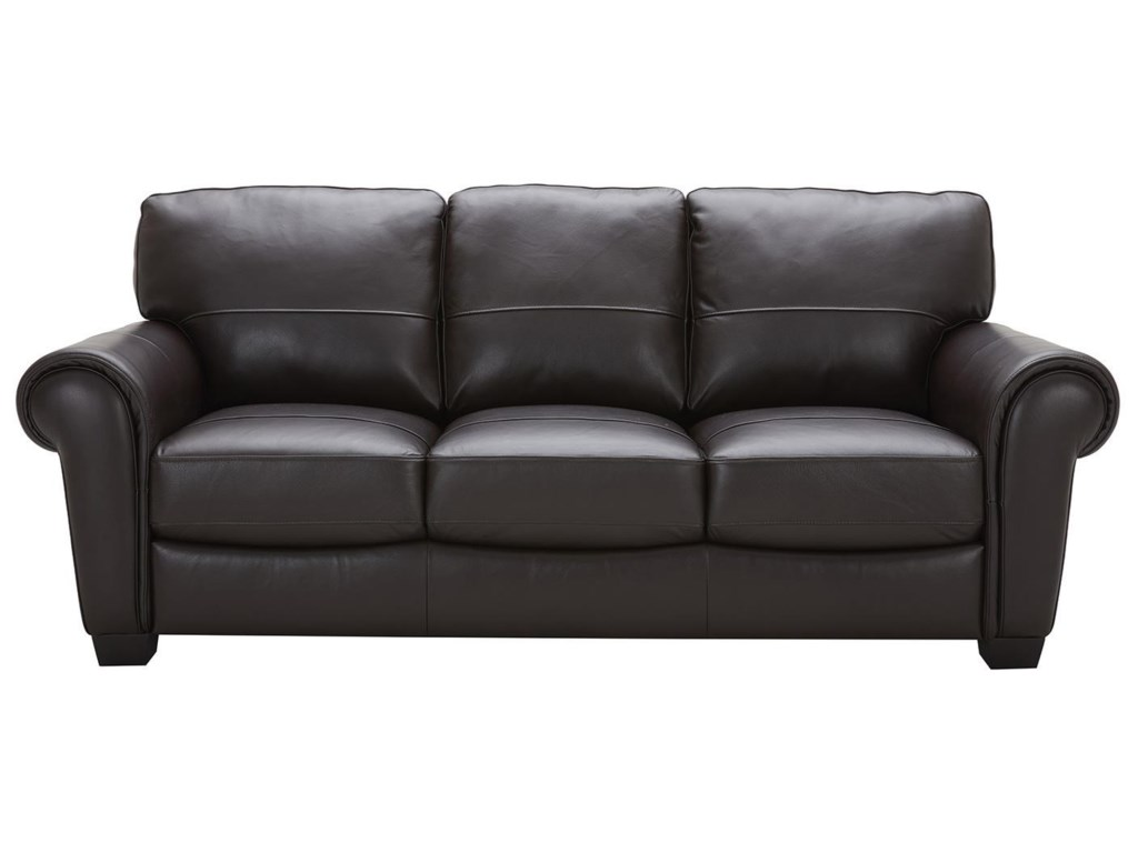 Urban Evolution TeddyLeather Sofa