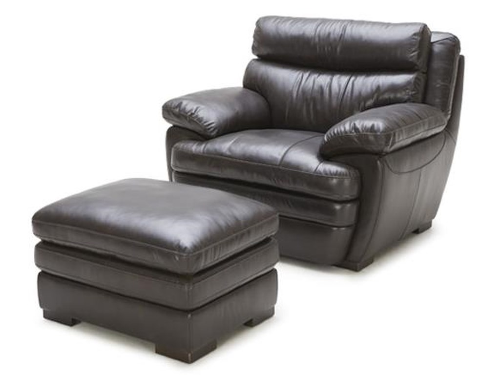 BFW Lifestyle 5073Chair and Ottoman Set