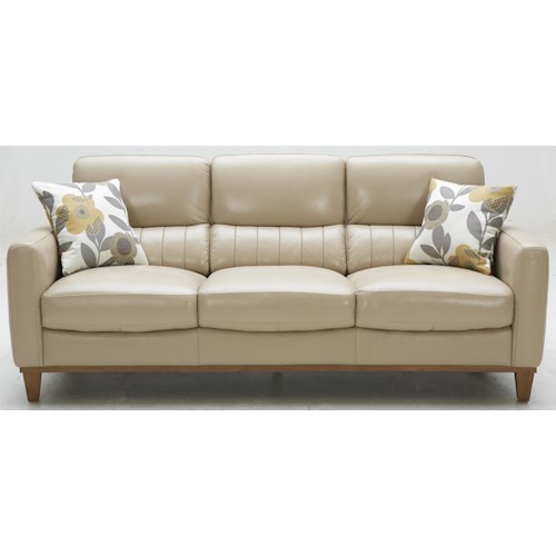 Warehouse M 5127 Contemporary Leather Match Sofa