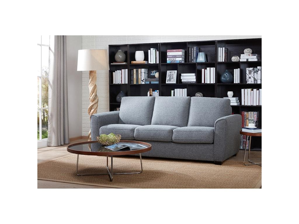 Kuka Home 5278Queen Sleeper Sofa