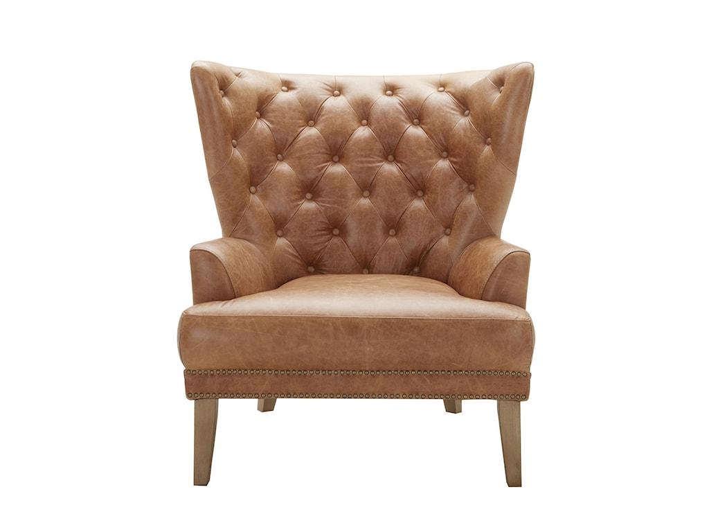 Urban Evolution GrandinTufted Leather Chair
