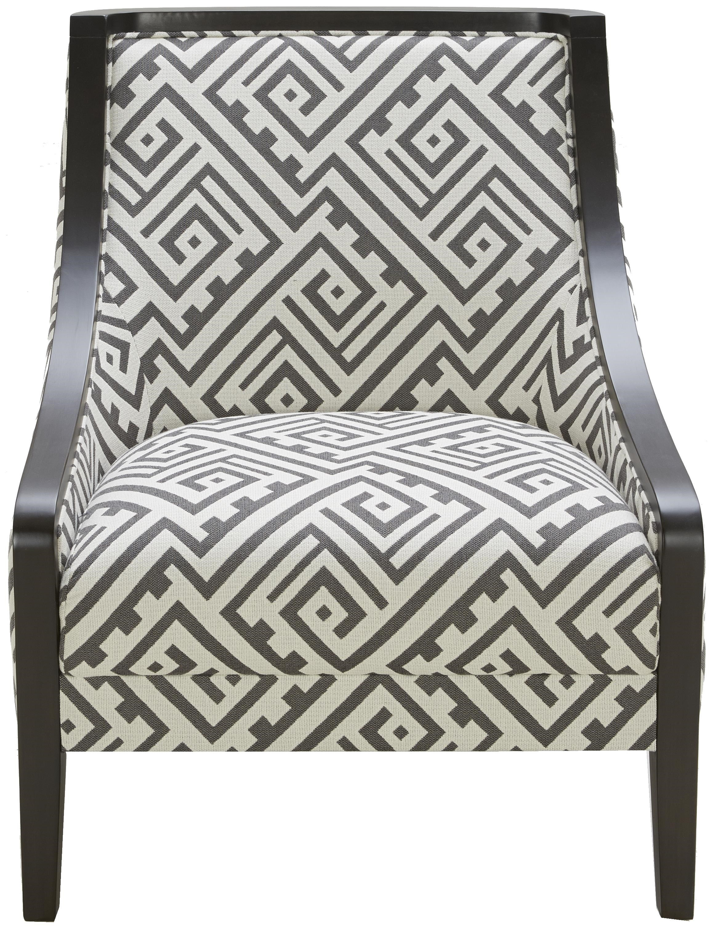 Urban Evolution Wood TrimTraditional Accent Chair ...