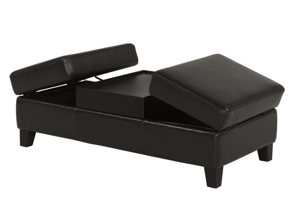BFW Lifestyle Accent OttomansContemporary Cocktail Ottoman