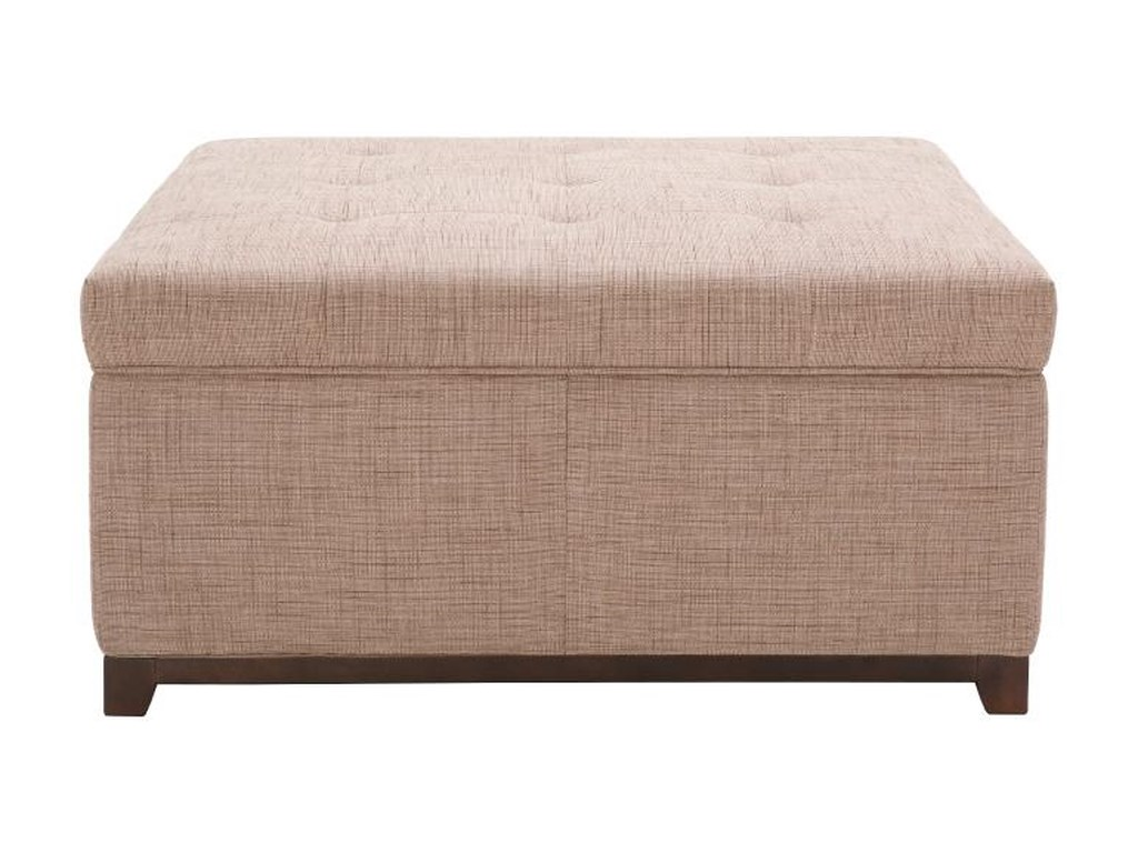 Accent Ottomans Storage Ottoman With Tufting Becker