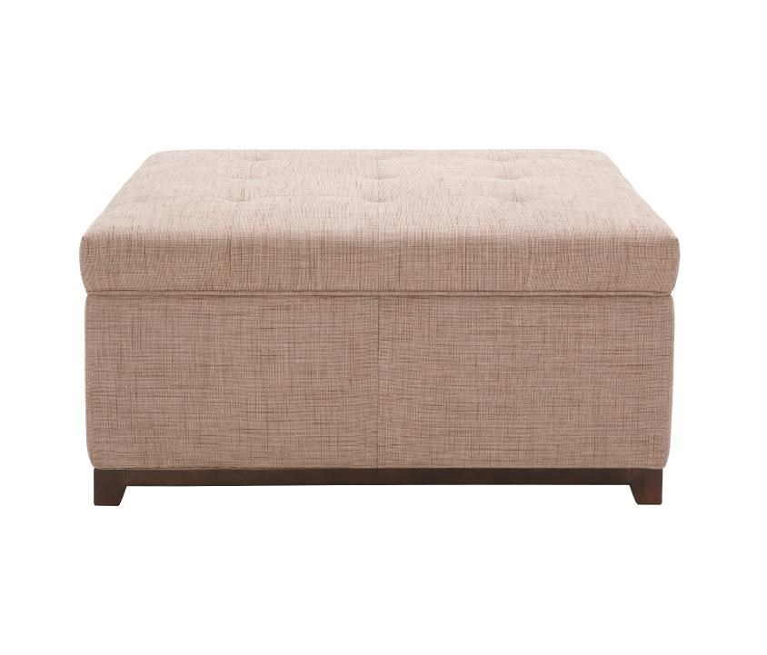 Kuka Home Accent Ottomans Storage Ottoman With Tufting