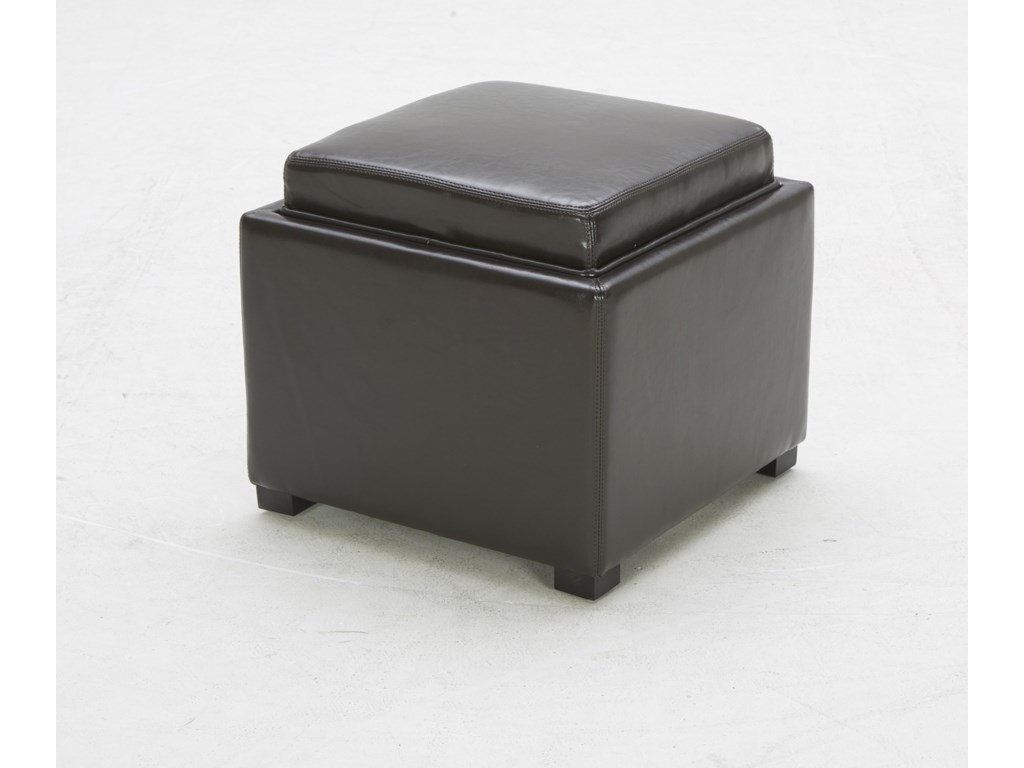 BFW Lifestyle Accent OttomansContemporary Storage Ottoman
