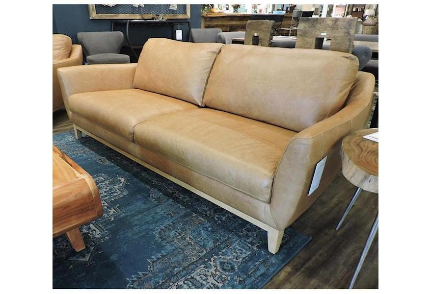 Baker Modern Leather Sofa