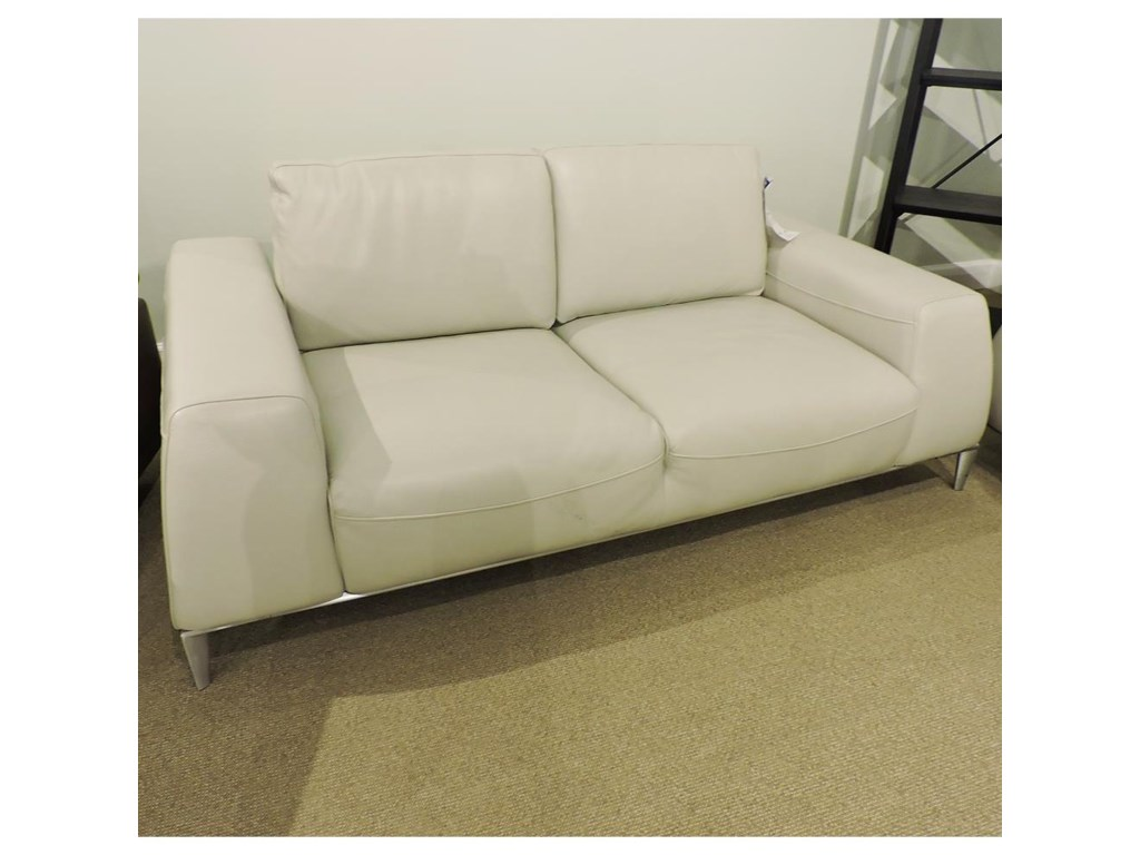 Urban Evolution Clearance-04Loveseat With Moveable Back