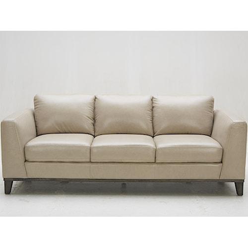 Urban Evolution Corbin Leather Sofa