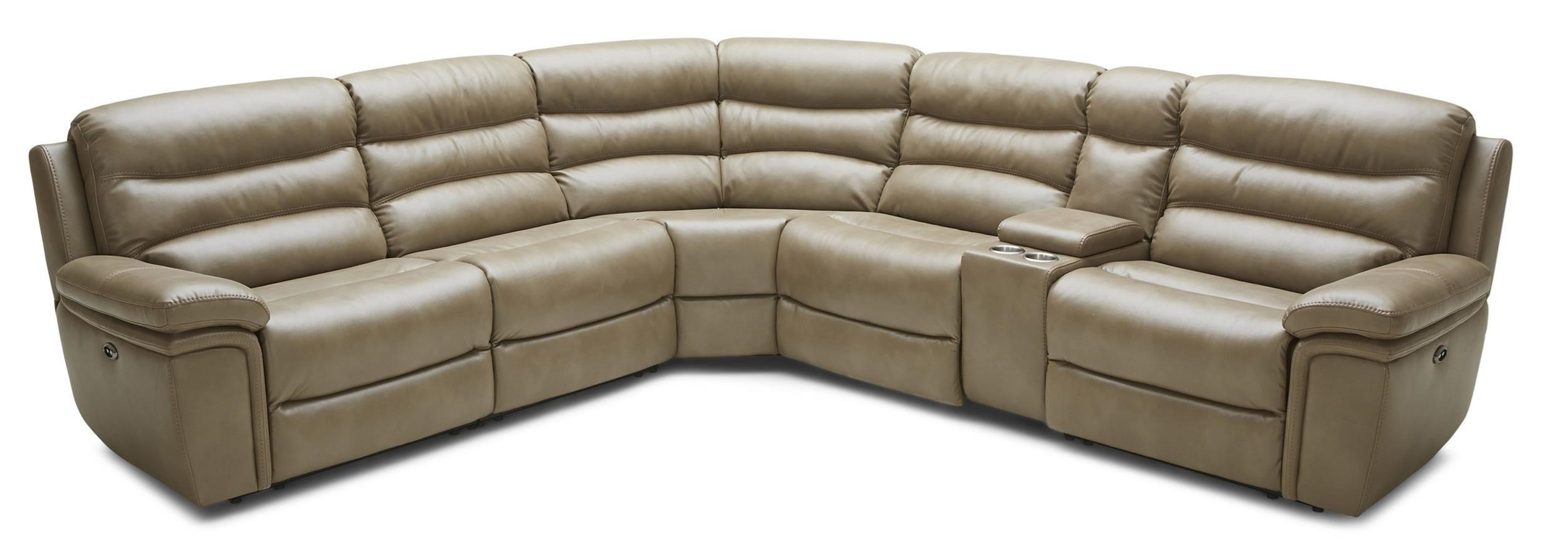 Kuka Home KM0086 Pc Reclining Sectional Sofa