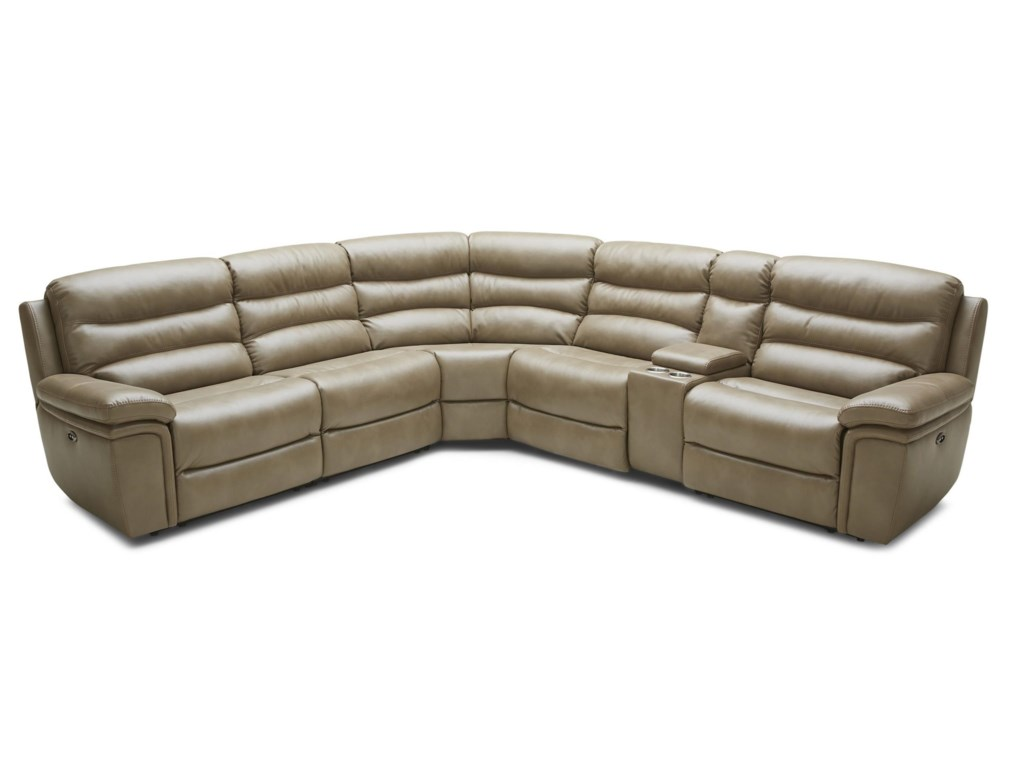 Kuka Home 1711 Five Piece Power Reclining Sectional Sofa | Wilson's  Furniture | Reclining Sectional Sofa Bellingham, Ferndale, Lynden, and  Birch Bay/Blaine, ...