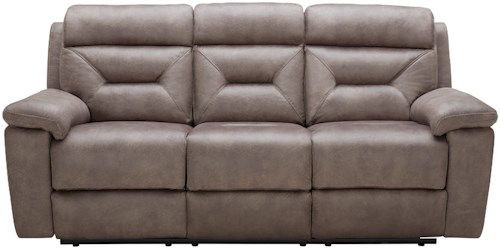 Kuka Home KM012 Casual Reclining Sofa