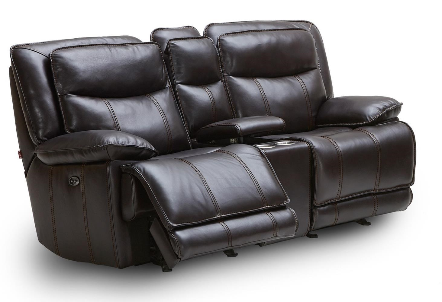KM030 127112460 Casual Reclining Glider Loveseat with Drink Storage Console by Kuka Home  sc 1 st  Becku0027s Furniture & Kuka Home KM030 Casual Reclining Glider Loveseat with Drink ... islam-shia.org