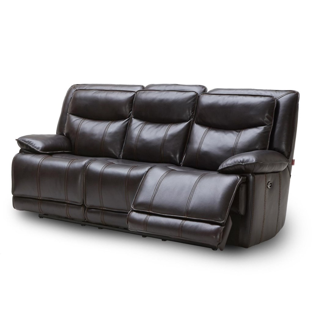 Kuka Home Km030 Km 030 3 2a 3e Casual Power Reclining Sofa W Three