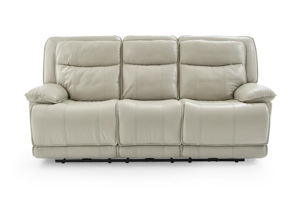Kuka Home Km030 Km030 3 2a 3e M1205 Casual Power Reclining Sofa W  ~ Best Place To Buy Reclining Sofa