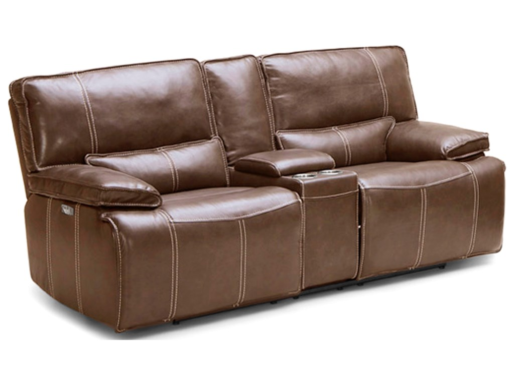 BFW Lifestyle KM.080Power Dual Reclining Love w/ Console