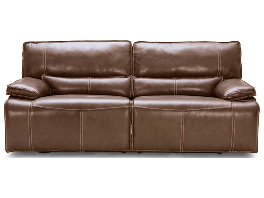 BFW Lifestyle KM.080Power Dual Reclining Sofa w/ Pwr Headrest
