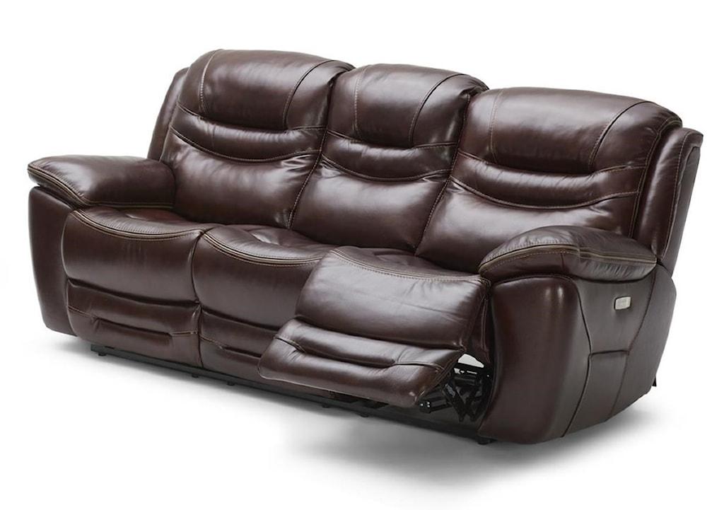 Kuka Home Km083 Km 083 3 2a He Casual Power Reclining Sofa With