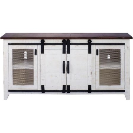 """Athens 74"""" Media Console"""