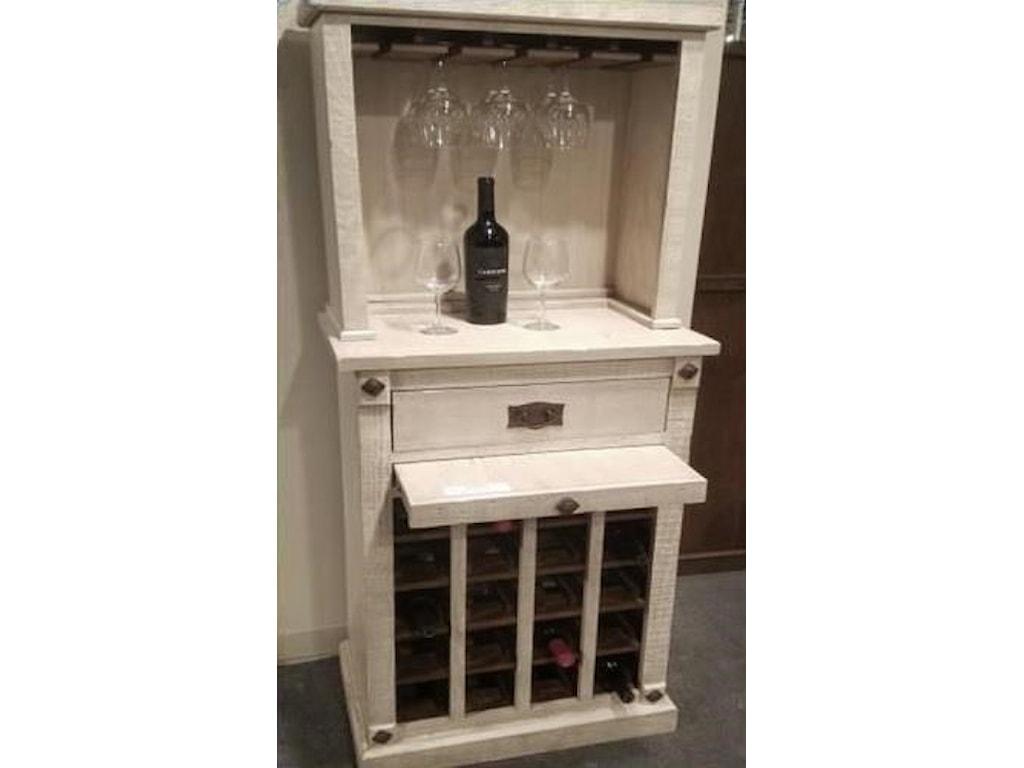 Morris Home AvinoAvino Wine Cabinet with Hutch