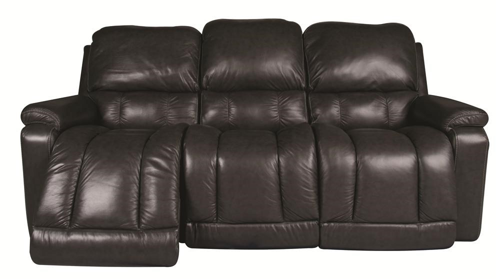 La Z Boy GreysonGreyson 100% Leather Reclining Sofa ...