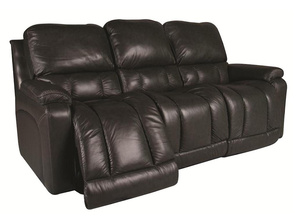 La Z Boy Greysongreyson 100 Leather Reclining Sofa