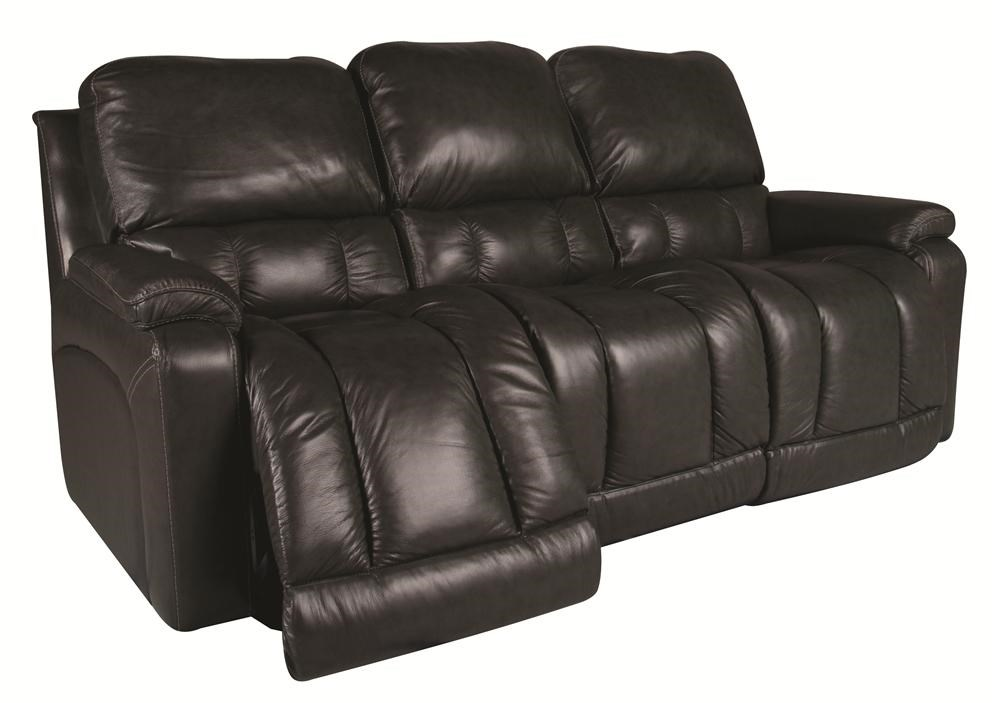 Greyson Leather Reclining Sofa by La-Z-Boy  sc 1 st  Morris Furniture : leather reclining couches - islam-shia.org