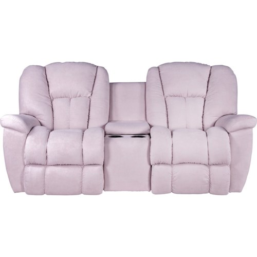 La-Z-Boy Maverick Power-Recline-XRw™ Full Reclining Loveseat with Drink Holder and Storage Console