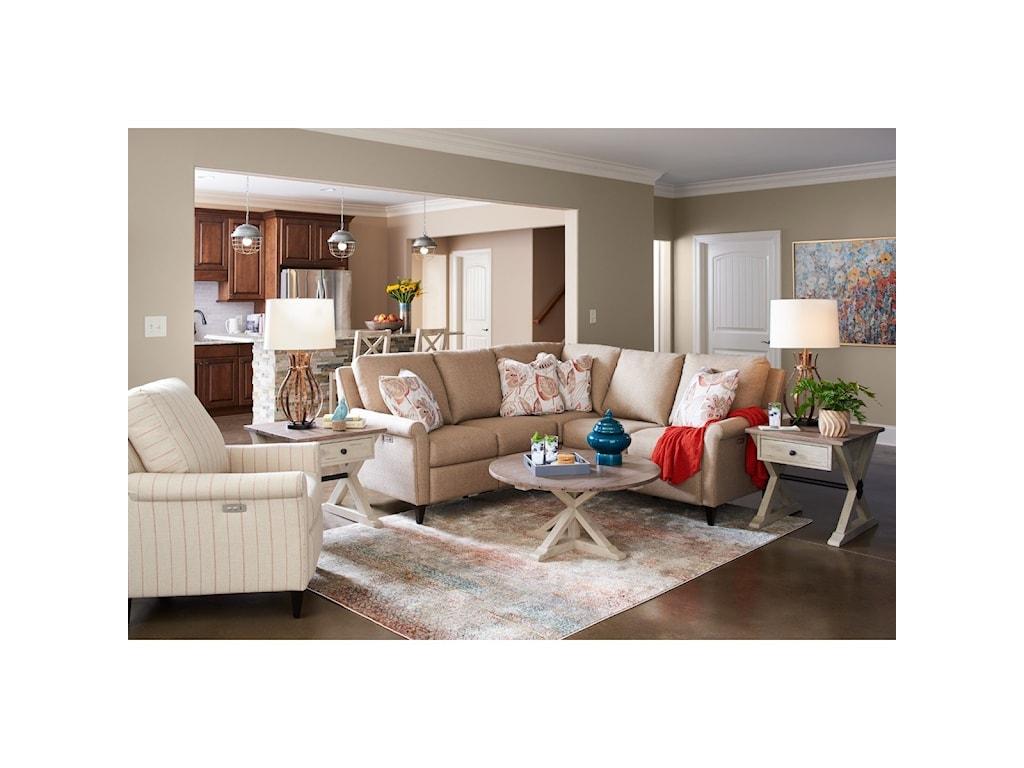 La-Z-Boy Abby3 Pc Reclining Sectional Sofa
