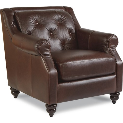 La-Z-Boy Aberdeen Traditional Stationary Chair with Tufted Seatback
