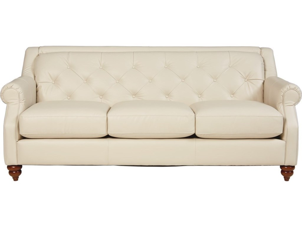 La Z Boy Aberdeen Traditional Sofa With Tufted Seatback Ad Furniture