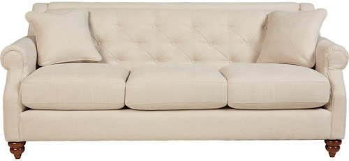 La-Z-Boy Aberdeen Traditional Sofa with Tufted Seatback