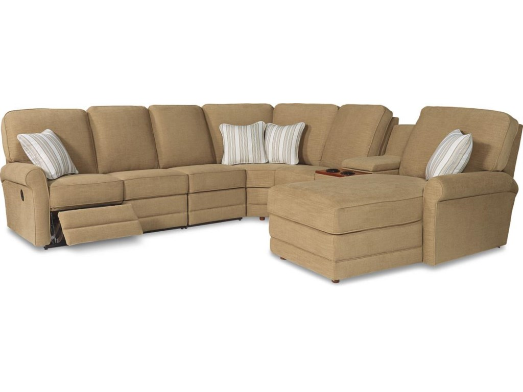 La-Z-Boy Addison6 Pc Power Reclining Sect Sofa w/ RAF Chaise