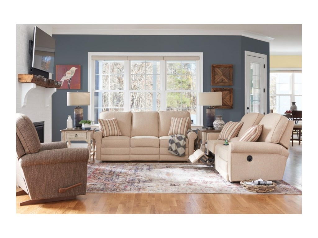 La-Z-Boy AddisonPower La-Z-Time® Full Reclining Sofa