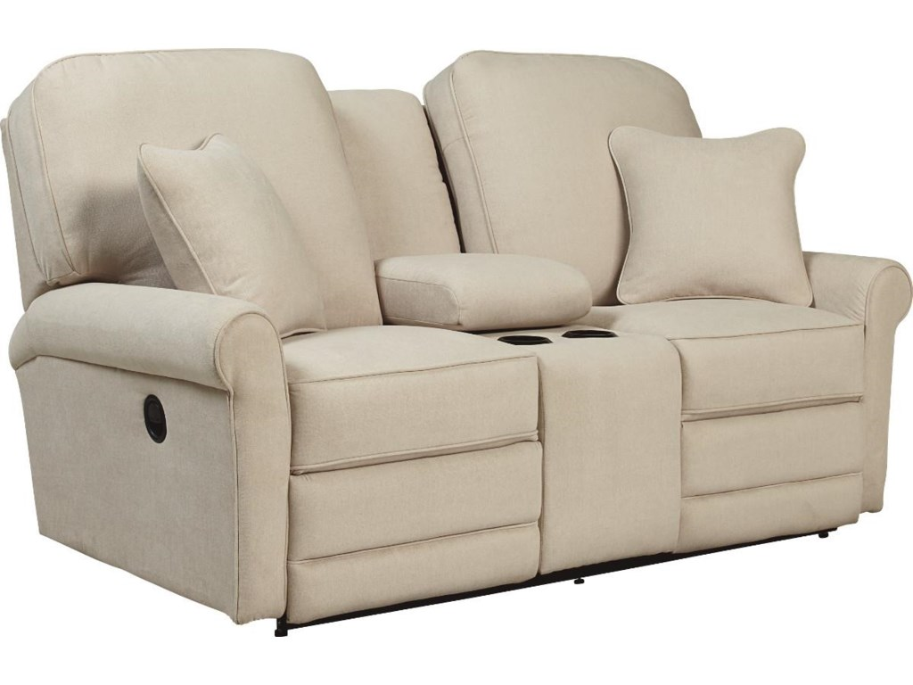 La-Z-Boy AddisonLa-Z-Time® Full Reclining Loveseat w/Console