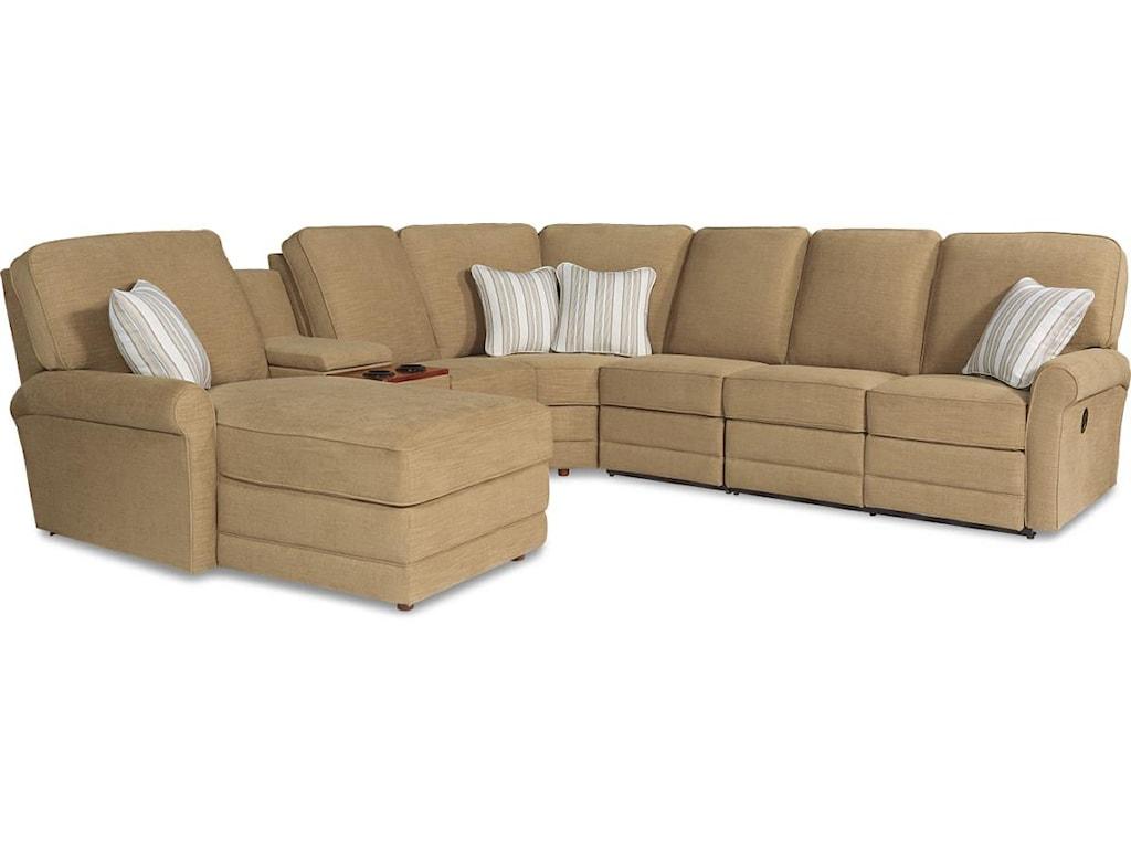 La-Z-Boy Addison6 Pc Power Reclining Sect Sofa w/ LAF Chaise