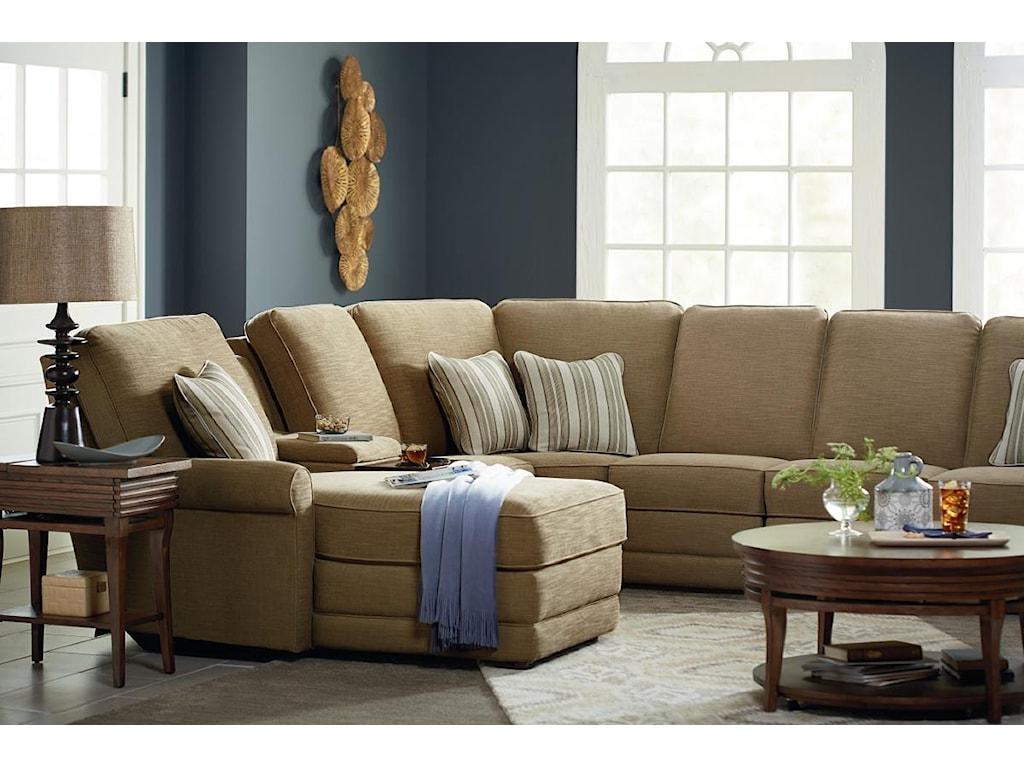 La-Z-Boy Addison6 Pc Reclining Sectional Sofa w/ LAF Chaise