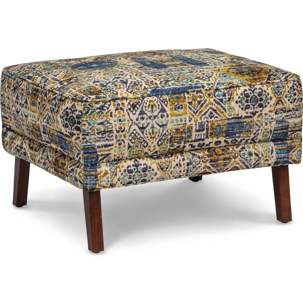 Picture of: La Z Boy Albany Mid Century Modern Ottoman Bennett S Furniture And Mattresses Ottomans